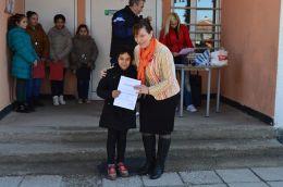 Отбелязване на 3 март - 2017 в училище - ОУ Васил Левски - с. Караджово, община Садово